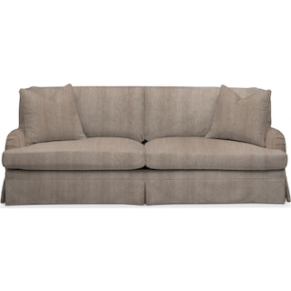 Campbell Comfort Sofa - Goliath Putty