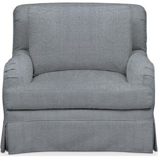 Campbell Comfort Chair - Synergy Pewter