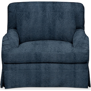 Campbell Cumulus Chair - Living Large Indigo