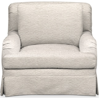 Campbell Cumulus Chair - Living Large White