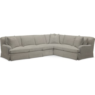 Campbell Comfort 2 Piece Sectional with Left-Facing Sofa - Synergy Oatmeal