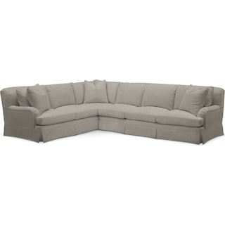 Campbell Cumulus 2 Piece Sectional with Right-Facing Sofa - Synergy Oatmeal
