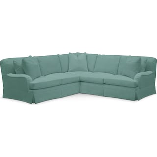 Campbell Cumulus 2 Piece Sectional with Right-Facing Loveseat - Toscana Spa