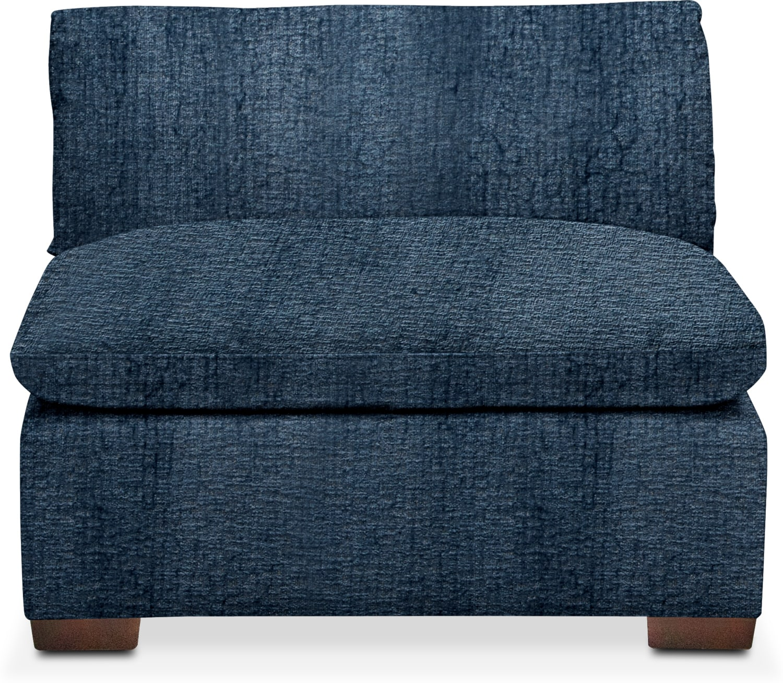 Plush Armless Chair American Signature Furniture