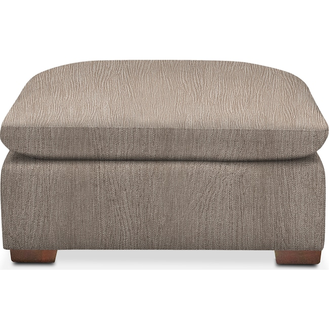 Accent and Occasional Furniture - Plush Ottoman