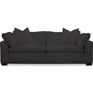 Plush Sofa - Statley L Sterling