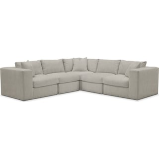 Collin Cumulus 5 Piece Sectional - Synergy Oatmeal
