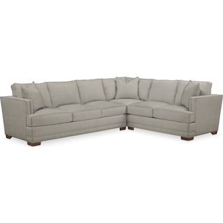 Arden Comfort 2 Piece Sectional with Left-Facing Sofa - Synergy Oatmeal