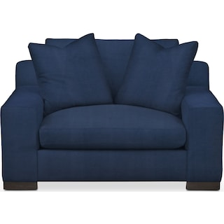 Ethan Comfort Chair and a Half - Toscana Navy