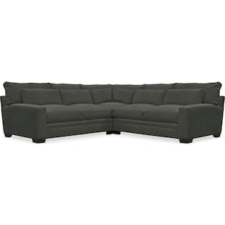 Winston Comfort 3 Piece Sectional - Toscana Olive