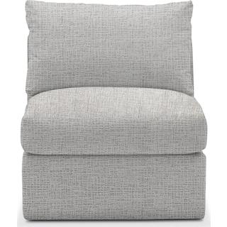 Collin Comfort Armless Chair - Everton Gray