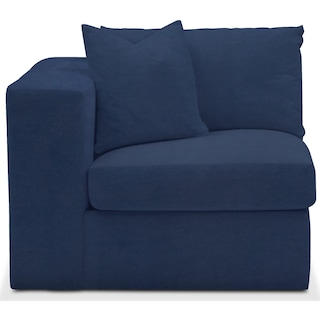 Collin Cumulus Left-Facing Chair - Toscana Navy