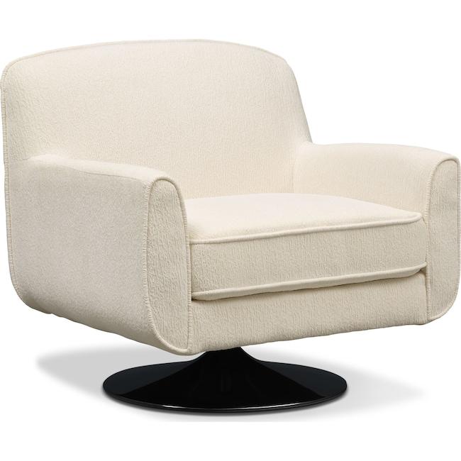 Living Room Furniture - Allyn Swivel Chair