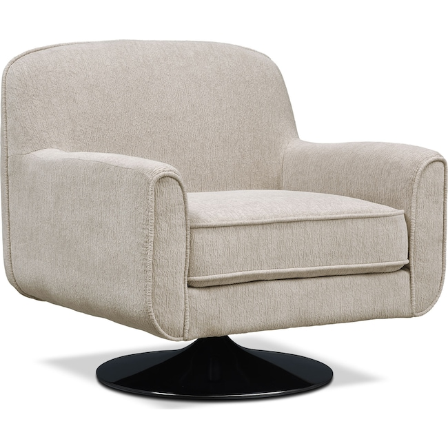 Living Room Furniture - Allyn Swivel Chair