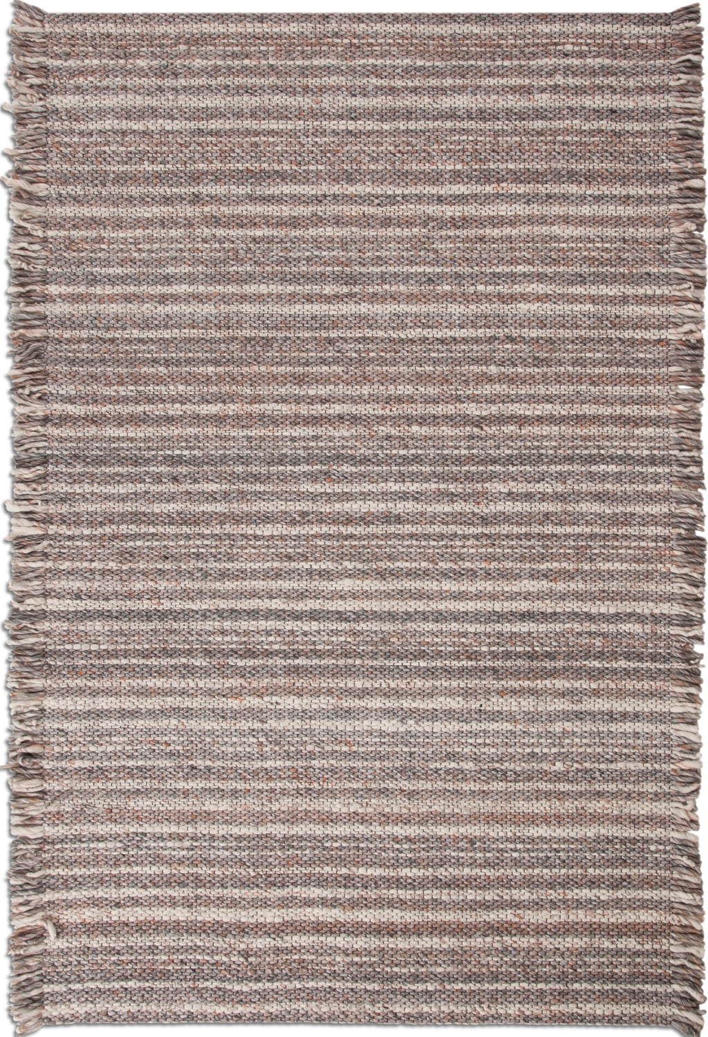 Rugs - Lifestyle Area Rug - Gray/Brown/Ivory