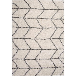 Elements Area Rug - Ivory/Charcoal