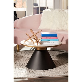 TOV Gorgeous Coffee Table - Marble