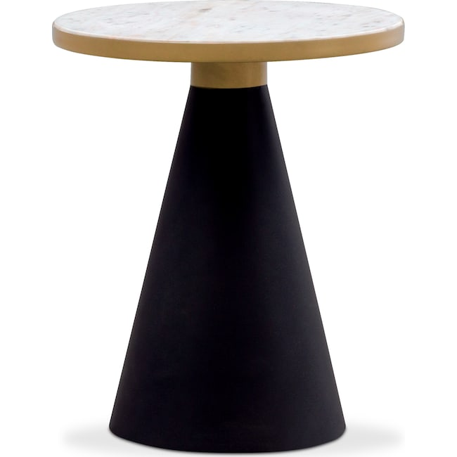 Accent and Occasional Furniture - TOV Gorgeous End Table - Marble