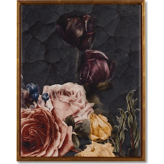 Baroque Floral Wall Art