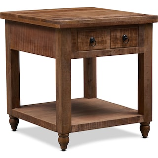 Ellis End Table - Natural