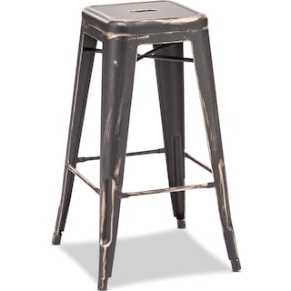 Biggs Set of 2 Bar-Height Barstools