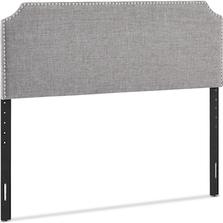 Piper Queen Upholstered Headboard and Bench Set