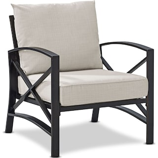 Clarion Outdoor Chair - Oatmeal