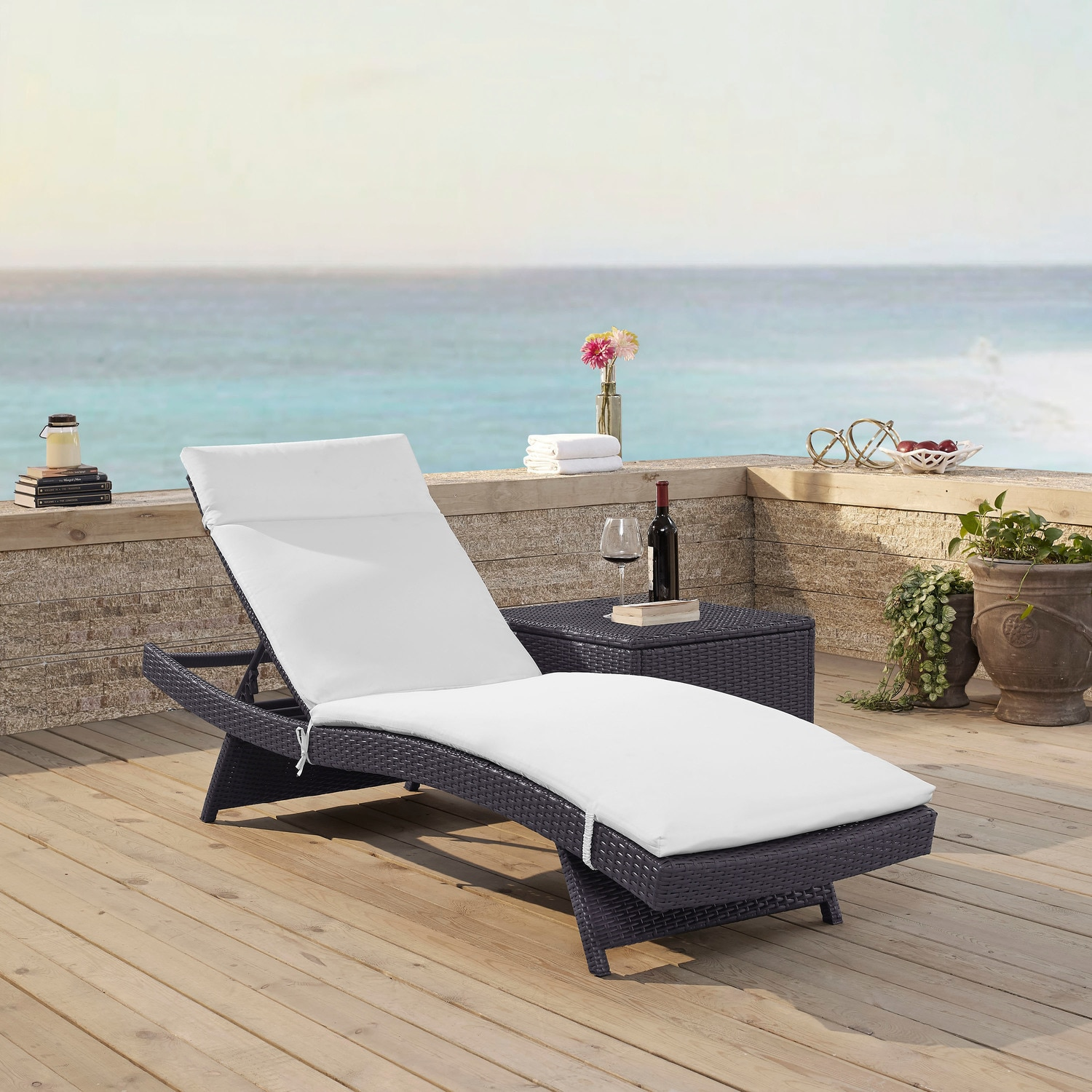 Outdoor Furniture - Isla Outdoor Chaise Lounge