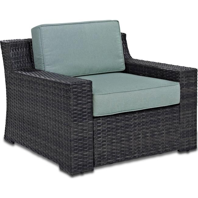 Outdoor Furniture - Tethys Outdoor Chair - Mist