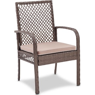 Zuma Outdoor Chair - Gray