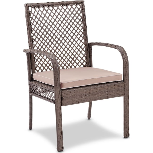 Outdoor Furniture - Zuma Outdoor Chair - Gray