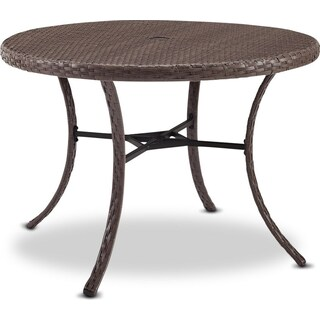 Zuma Outdoor Dining Table - Gray