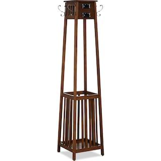 Briggs Coat Rack - Brown