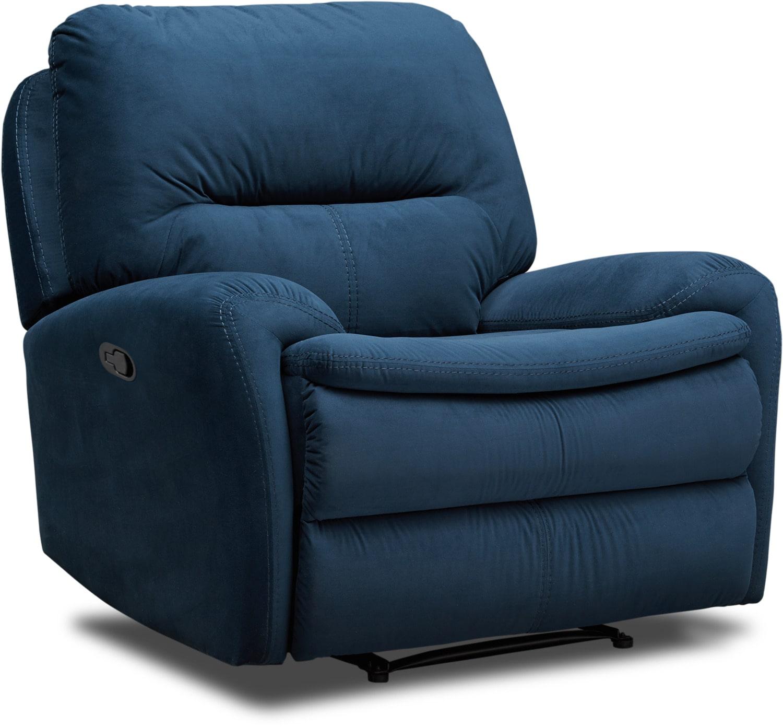 Living Room Furniture - Cruiser Recliner - Ink