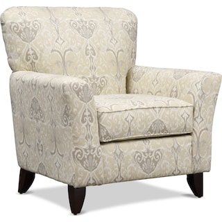 Carla Accent Chair - Beige