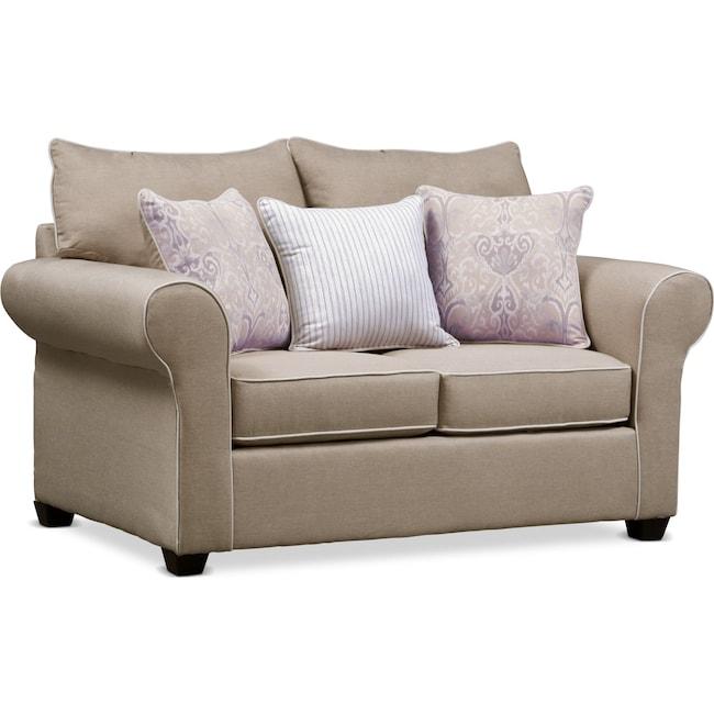 Living Room Furniture - Carla Loveseat
