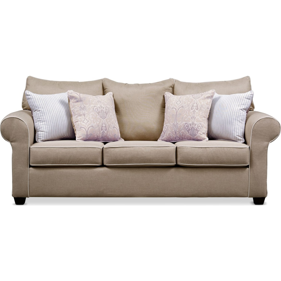 Carla Queen Sleeper Sofa And Loveseat Set American