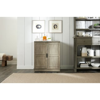 Maxton Expandable Bar - Graystone
