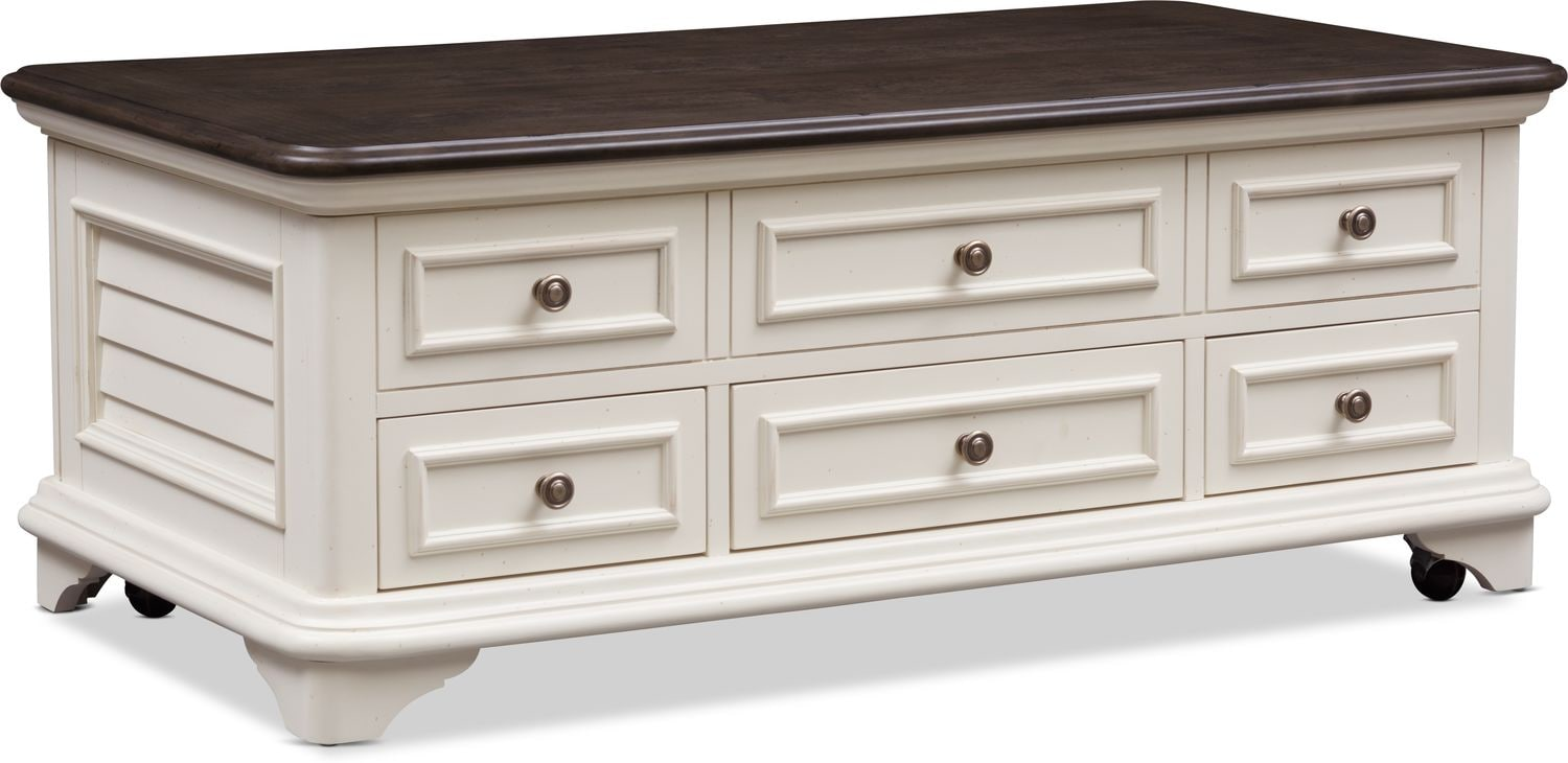 Accent and Occasional Furniture - Charleston Lift Top Coffee Table