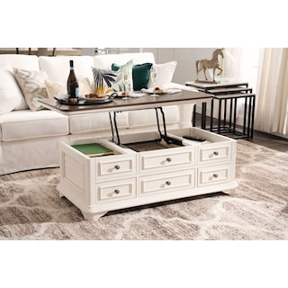 Charleston Lift Top Coffee Table