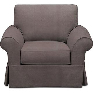 Sawyer Slipcover Chair - Intern Taupe