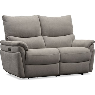 Maddox Triple-Power Reclining Loveseat