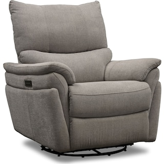 Maddox Triple-Power Reclining Swivel Chair