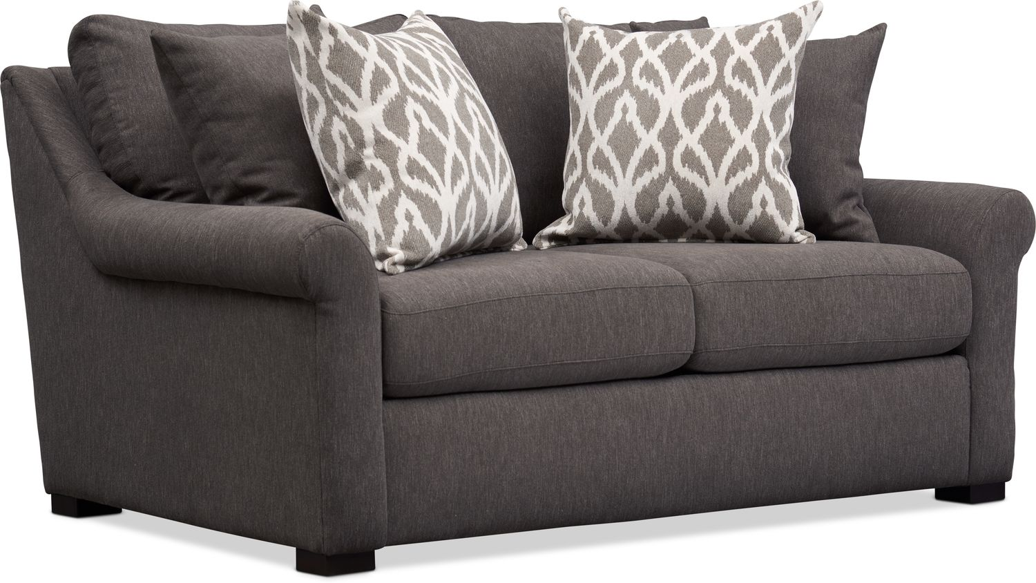 Living Room Furniture - Robertson Loveseat - Brown
