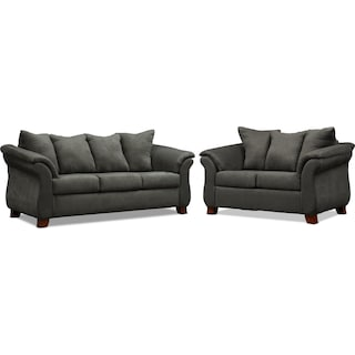 Adrian Sofa and Loveseat Set