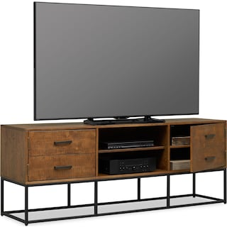 "Carter 74"" TV Stand - Pine"