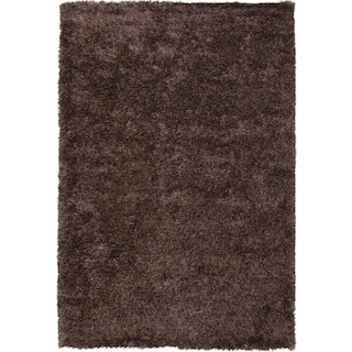 Tap To Change Lifestyle Shag Area Rug Chocolate