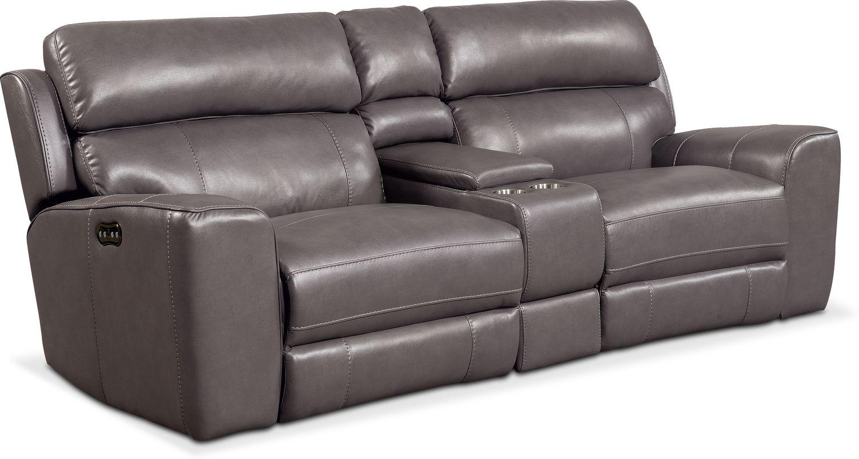 Pleasing Newport 3 Piece Dual Power Reclining Sofa With Console Frankydiablos Diy Chair Ideas Frankydiabloscom