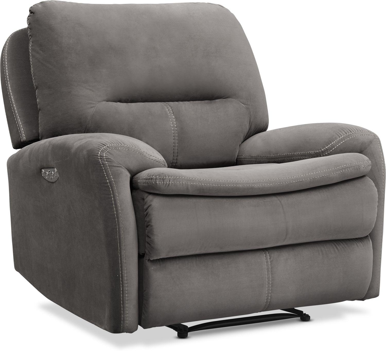 Living Room Furniture - Cruiser Dual Power Recliner