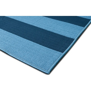 Awning Indoor/Outdoor Rug - Blue/Navy